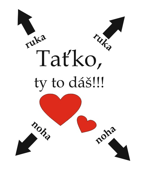TAŤKO, TY TO DÁŠ!!! BODY