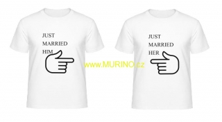 JUST MARRIED HIM/HER - 2ks